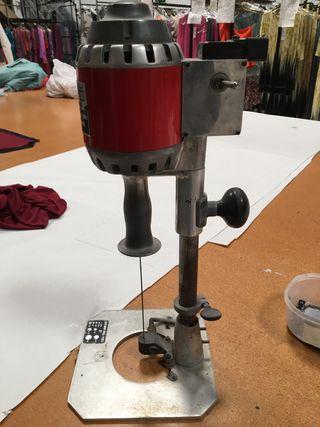 Máquina taladro señalar tejido