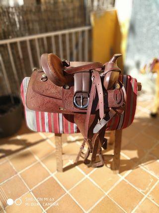 Montura / silla caballo western