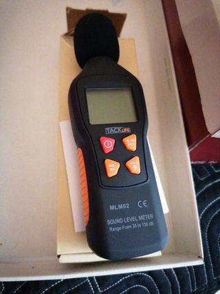 medidor de nivel de sonido