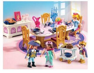 Comedor castillo princesas Playmobil