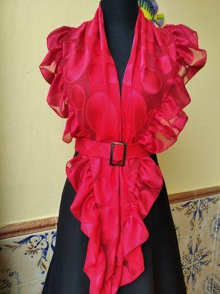 mantoncillo de flamenca
