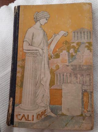 libro de lectura Caliope