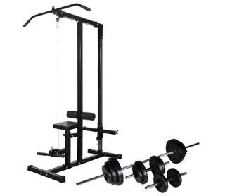Máquina de musculación con pesas