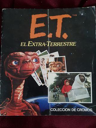 colección de cromos E.T.