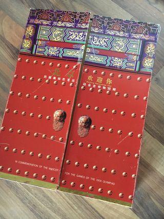 Libro Conmemorativo Olimpiadas Beijing 2008