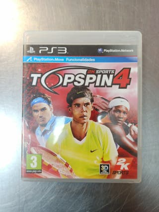 TopSpin 4, PS3