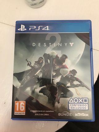 Vendo juego de ps4 destiny 2