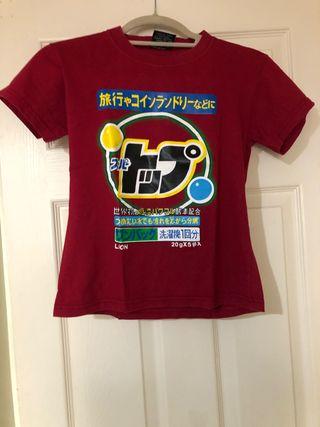 Japanese printed women's T-shirt