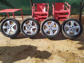 llantas con neumático peugeot 205/55r16 91V