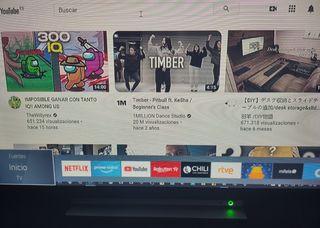 "32"" pulgadas smart tv Toshiba Televisión/televisor"