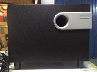 Altavoces Philips Subwoofer con Regulador VO