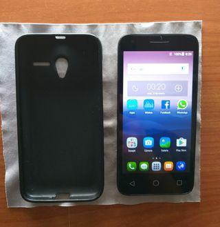 Alcatel One Touch Pixi 3 (4.5) con funda