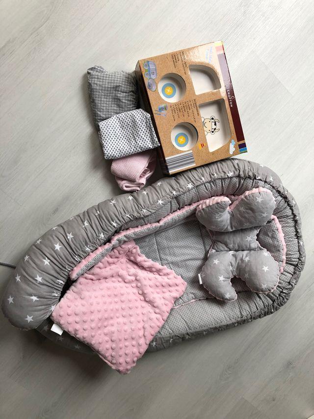 Nido + vajilla + ropa para Bébés *gratis*