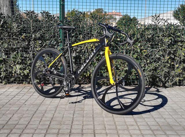 Bicicleta carretera mixta