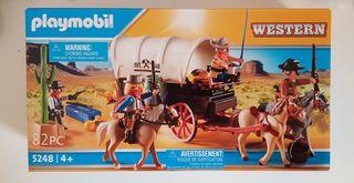 Caravana de bandidos del oeste de playmobil 5248