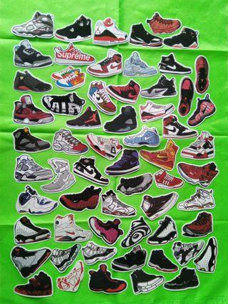 pegatinas zapatillas nike