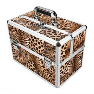 maleta maletín compartimento manicura peluqueria