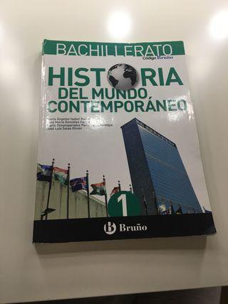 Libro de historia , 1 de bachillerato.