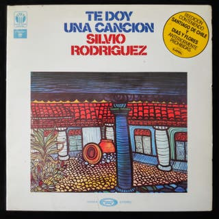 SILVIO RODRIGUEZ TE DOY UNA CANCIÓN 1975 LP ALBUM
