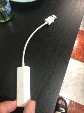 Adaptador de cable de internet para apple