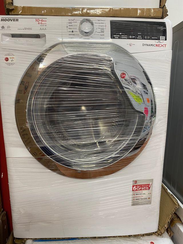 Lavadoras secadora 10kg + 6 1500 rpm AAA nuevas