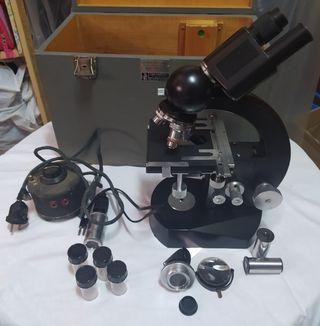 Microscopio BECK KASSEL antiguo