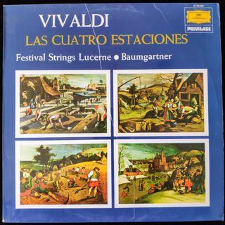 ANTONIO VIVALDI LAS 4 ESTACIONES 1975 LP EXCELENTE