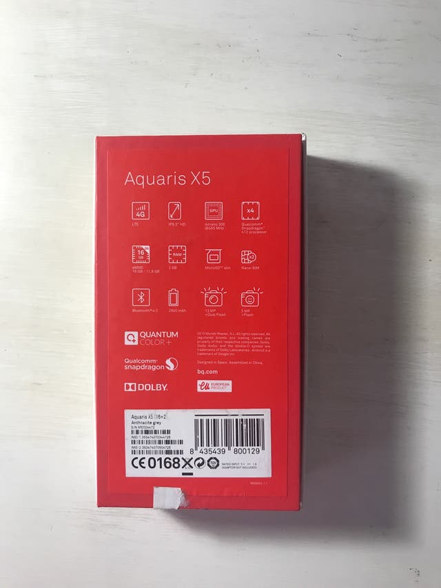 BQ Aquaris X5 16GB