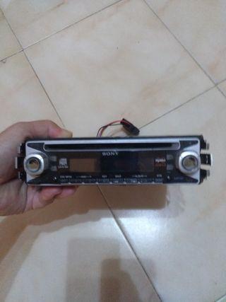radio CD Sony con aux