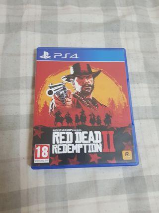 vendo red dead redemption II de ps4
