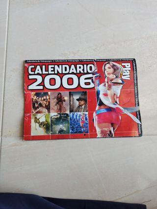 Calendario Póster Juegos PlayStation 2