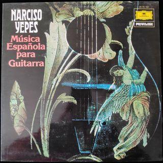 NARCISO YEPES MUSICA ESPAÑOLA PARA GUITARRA 1978