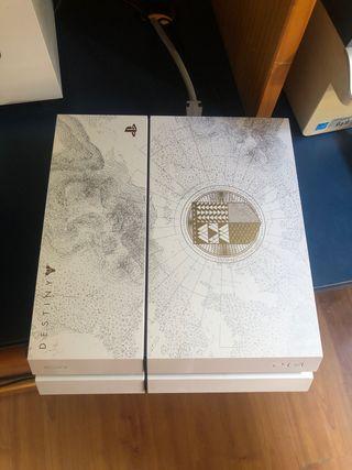 Ps4 1TB edición Destiny + juegos y 2 mandos