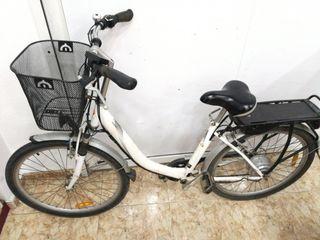Bicicleta Eléctrica Mobid Blanca