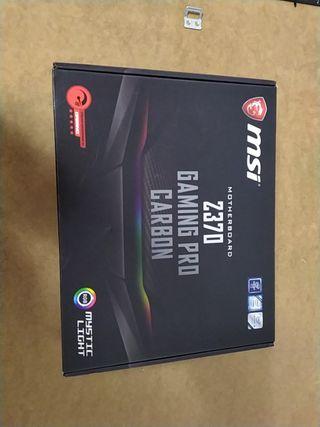 Placa Base MSI Z370 Gaming Pro Carbon