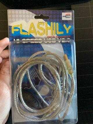 Cable usb macho a usb macho