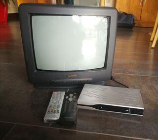 televisión de 14 pulgadas con TDT