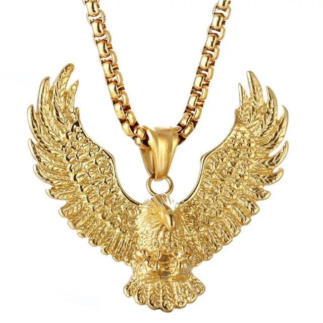 Fashion Eagle Pendant for Men Stainless steel