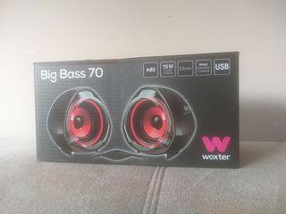 altavoces big bass 70 woxter nuevos