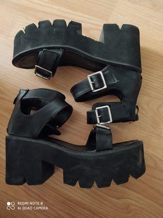 Sandalias de plataforma!!!!