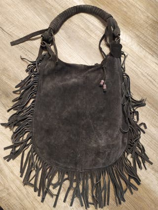 Bolso de flecos de Genuine Leather