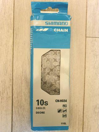 Cadena Shimano 10v