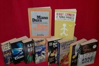 Libros 10 best seller ESTUPENDO LOTE