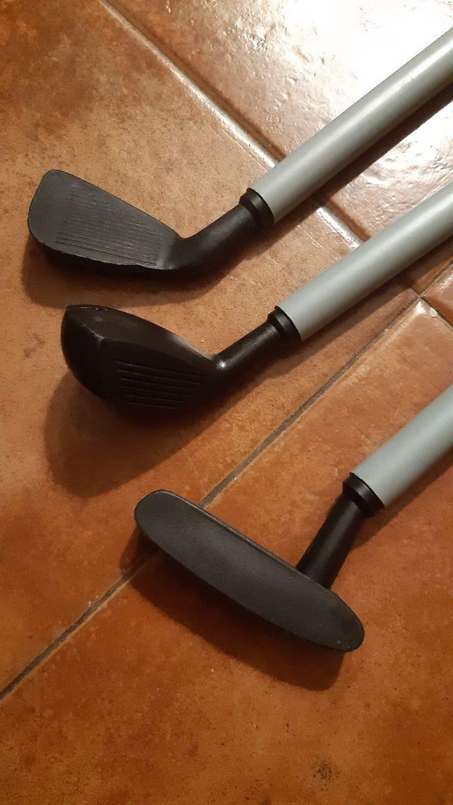 palos de golf de juguete
