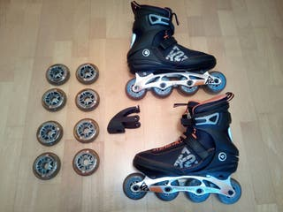 patines k2 freedom 80 con ABC 11