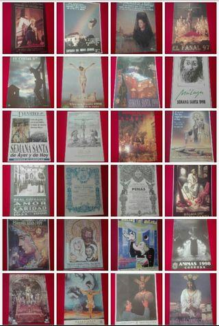 Cartel de semana santa 99 ejemplares Años 80 y 90