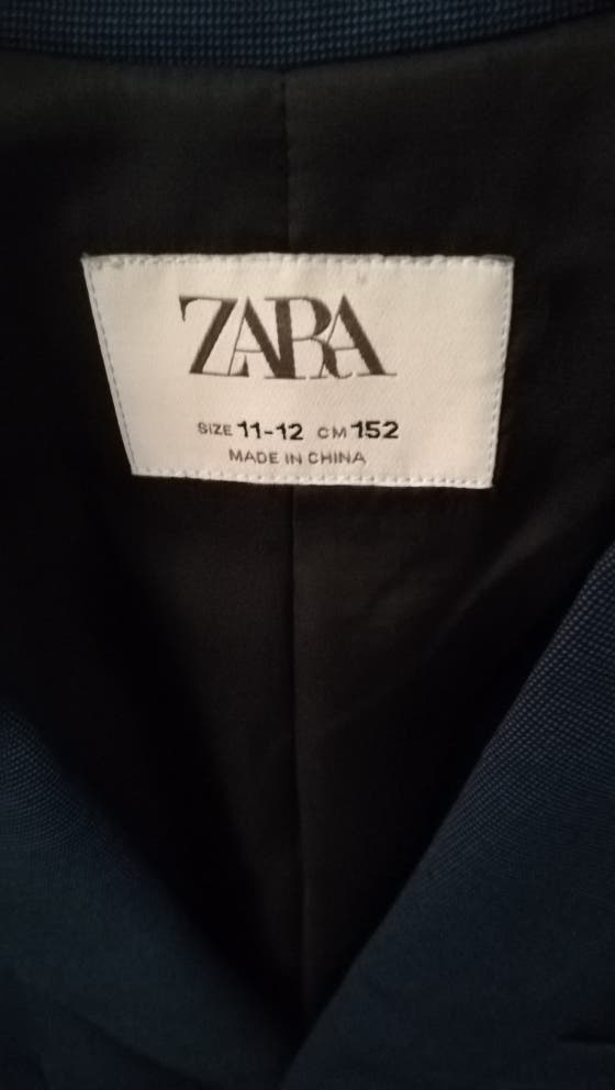 CHAQUETA NIÑOS Zara talla 11-12