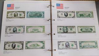 Facsímiles billetes extranjeros 1999