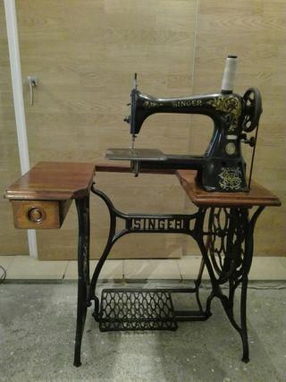 Máquina de coser de zapatero Singer