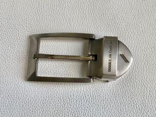 Boucle de ceinture en acier brossé Daniel Hechter